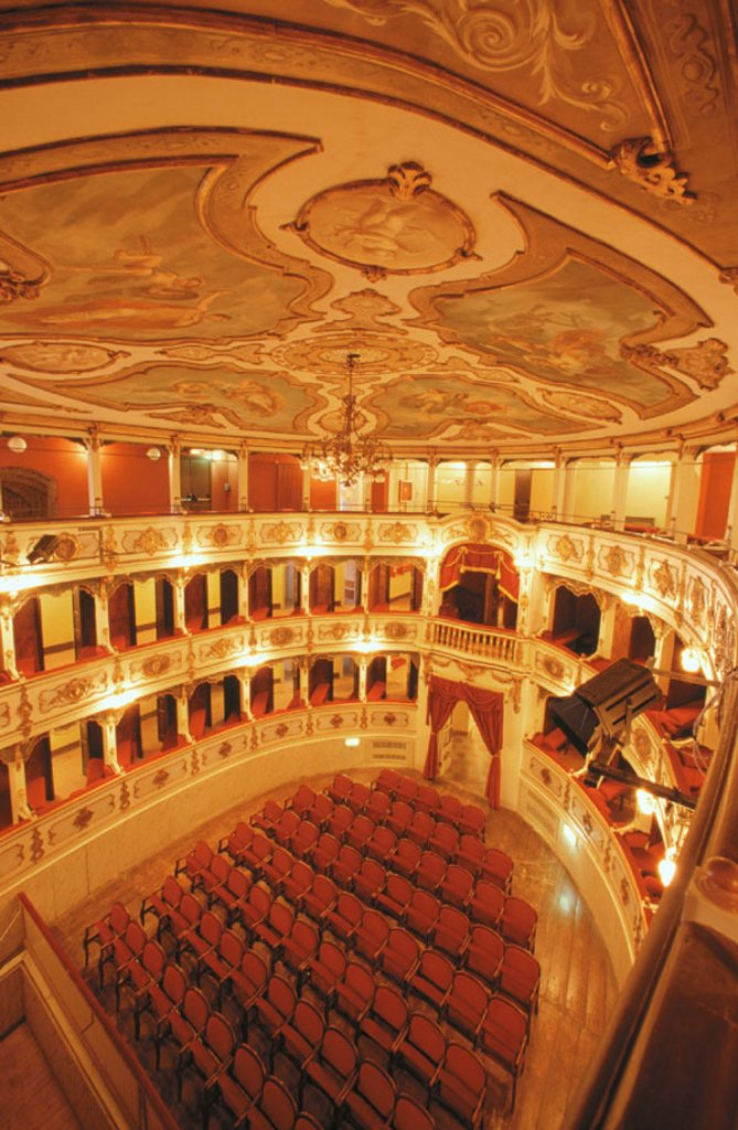 Stock Photo: 1566-049047 Verdi Theatre. Busseto. Emilia-Romagna. Italy