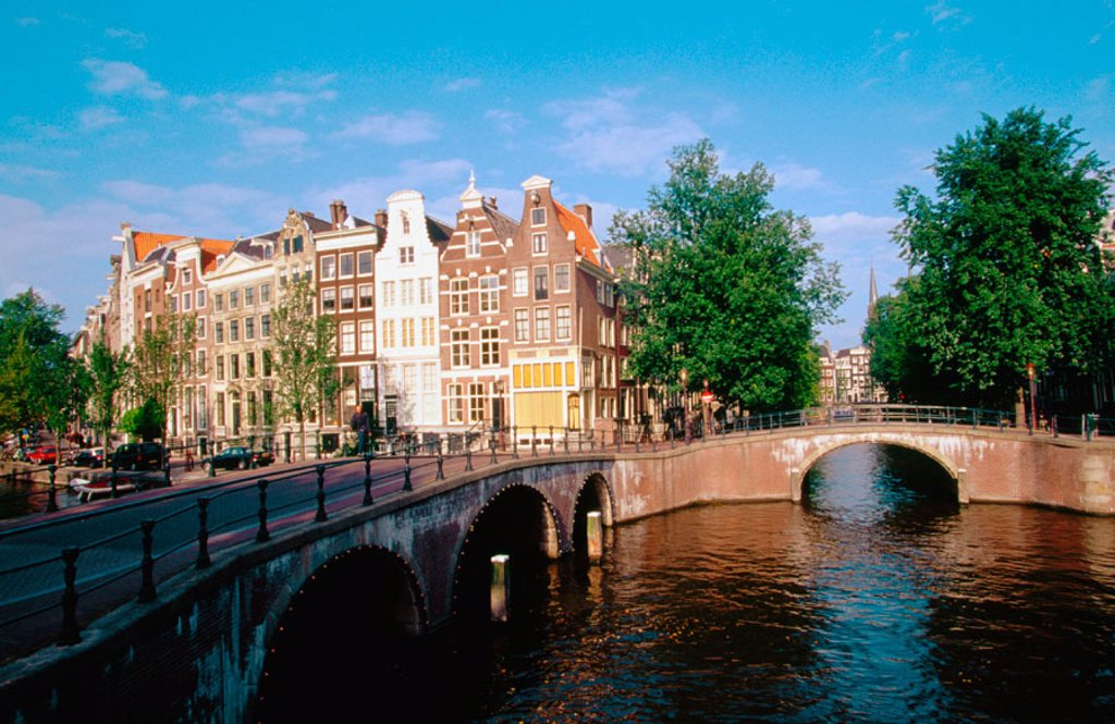 Stock Photo: 1566-049733 Heren Canal. Amsterdam. Netherlands
