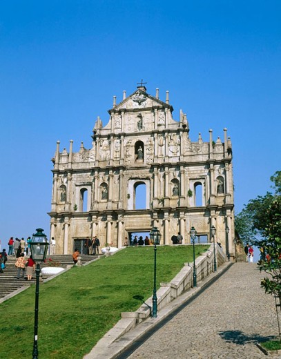 Saint Paul´s Church, Macau, China : Stock Photo