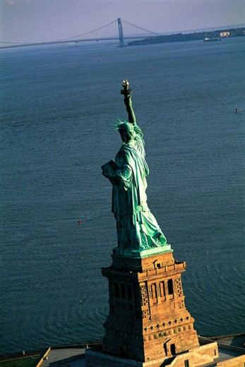 Stock Photo: 1566-051382 Statue of Liberty. New York City. USA
