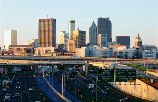 Atlanta. Georgia. USA : Stock Photo