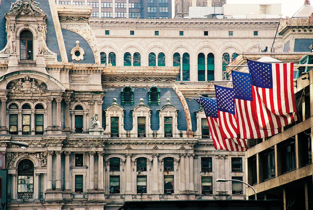 City Hall. Philadelphia. USA : Stock Photo