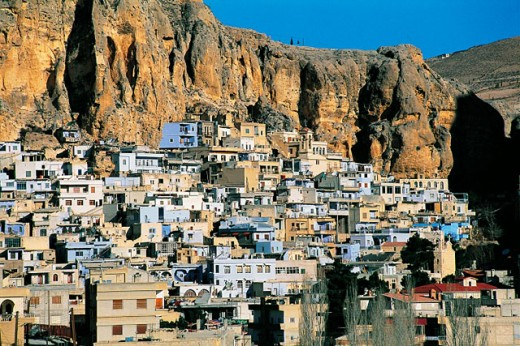 Stock Photo: 1566-051878 Maaloula, christian village. Syria