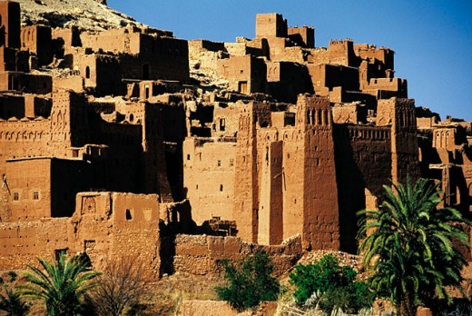 Stock Photo: 1566-051967 Aït Ben Haddou. High Atlas. Morocco