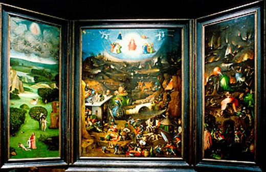 Stock Photo: 1566-052157 ´The Last Judgment´ by Hiëronymus Bosch. Akademie Gallery. Vienna. Austria