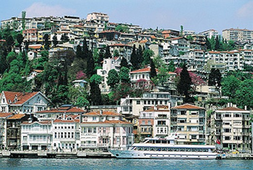 Residential hills at Asian side. Istanbul. Turkey : Stock Photo