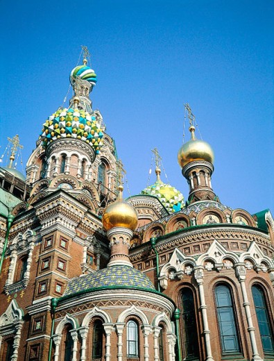 Stock Photo: 1566-052878 Church of the Bleeding Savior. St. Petersburg. Russia