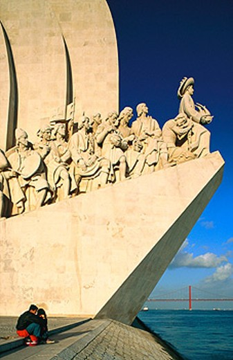 Stock Photo: 1566-052968 Monument to the Discoveries. Lisbon. Portugal