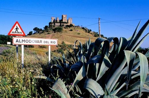 Almodóvar del Río. Córdoba province, Spain : Stock Photo