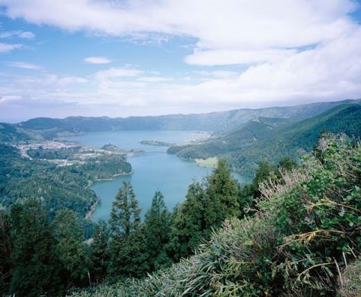 Stock Photo: 1566-056514 Sete Cidades. São Miguel Island. Azores. Portugal