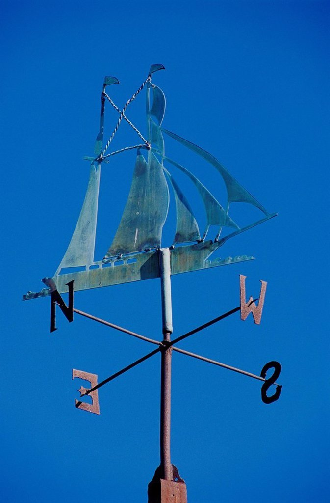 Stock Photo: 1566-057273 Weather vane
