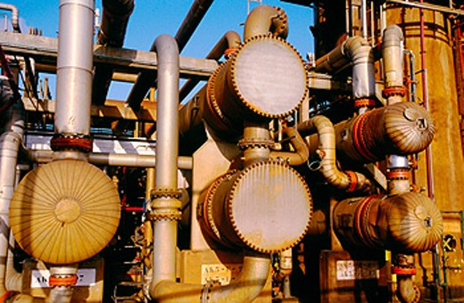 Stock Photo: 1566-059073 Oil refinery. Biscay. Spain