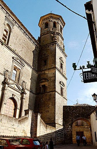 Old University building. Baeza. Jaén province. Spain : Stock Photo