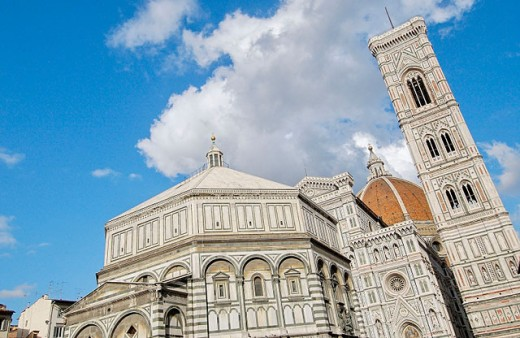 Santa Maria del Fiore cathedral. Florence. Tuscany, Italy : Stock Photo