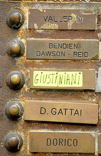 Stock Photo: 1566-063114 Bells. Florence. Tuscany, Italy