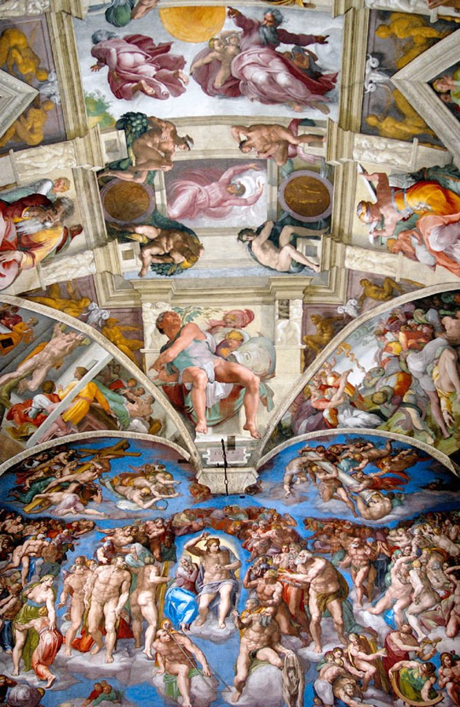 Stock Photo: 1566-063134 Renaissance frescoes