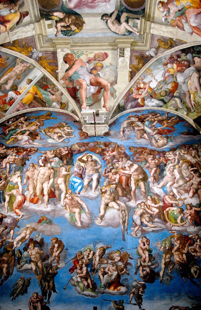 Stock Photo: 1566-063135 The Last Judgement