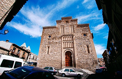 Stock Photo: 1566-063752 Church of Santiago del Arrabal (13th century). Toledo. Spain