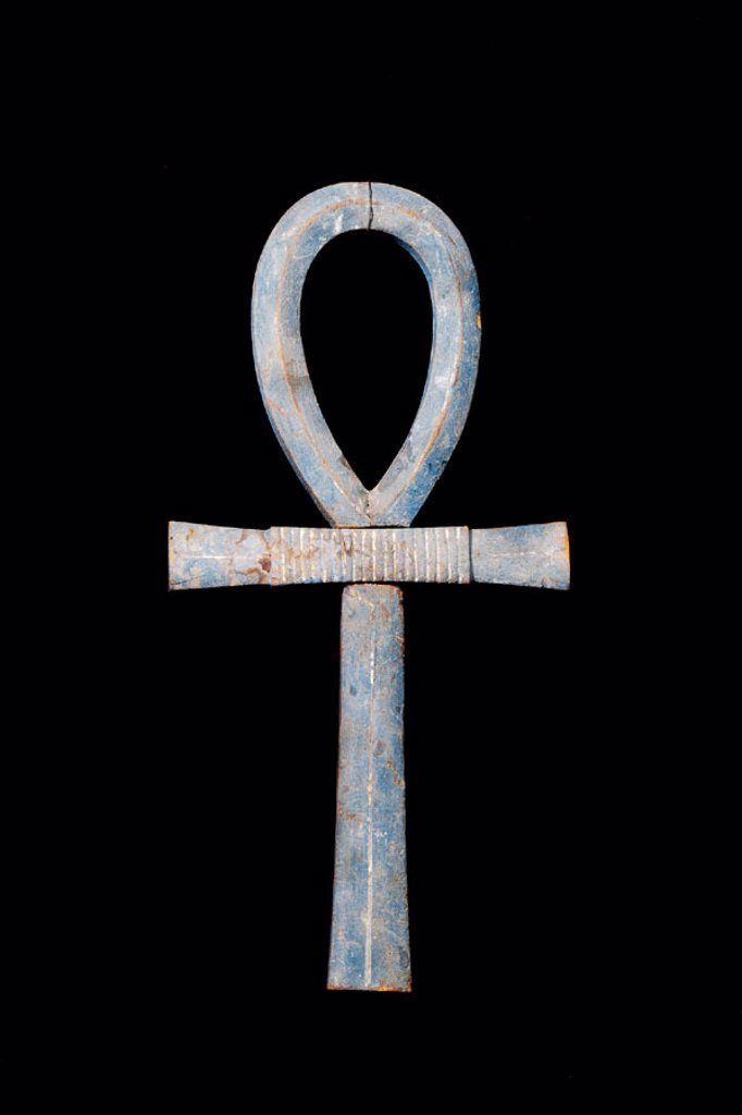 Stock Photo: 1566-063862 Large Ankh. Egyptian Museum. Egypt