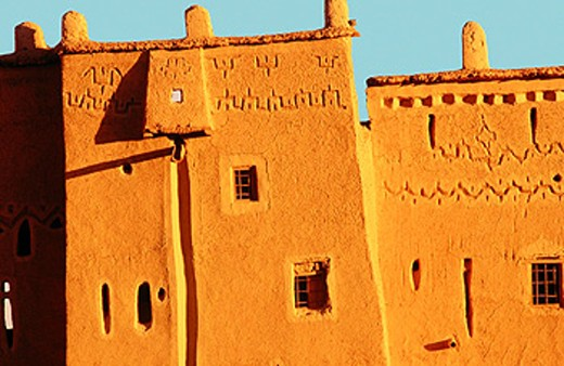 Kasbah of Taourirt. Ouarzazate. Morocco : Stock Photo