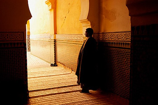 Tomb of the Moulay Ismail. Meknès. Morocco : Stock Photo