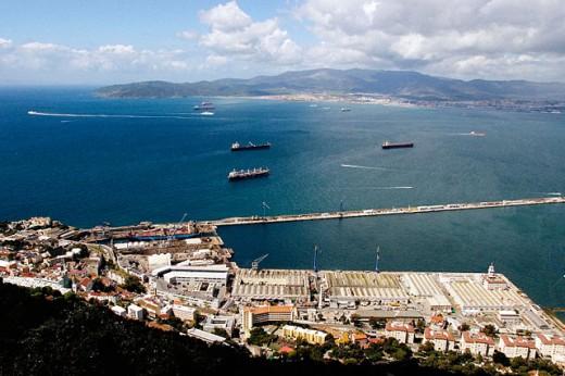 Gibraltar. UK : Stock Photo