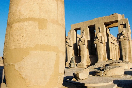 Ramesseum. Luxor. Egypt : Stock Photo