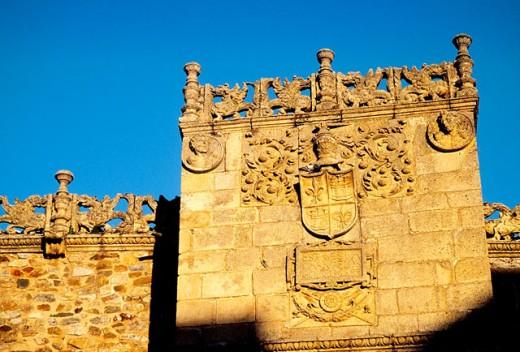 Casa de los Golfines de Abajo. Cáceres. Spain : Stock Photo