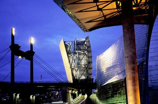 Guggenheim Museum. Bilbao. Biscay. Spain : Stock Photo
