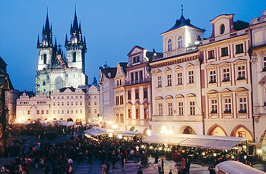 Stock Photo: 1566-064959 Staré Mesto Square (Old Town). Prague.