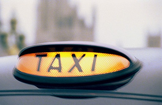 Taxi. London. England : Stock Photo