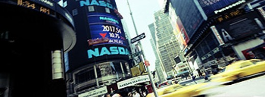 NASDAQ. New York City. USA : Stock Photo