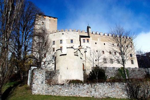 Bruck castle. Lienz. Austria : Stock Photo