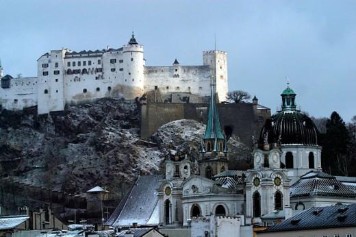 Salzburg. Austria : Stock Photo