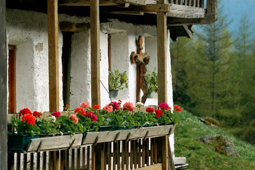 Old house. Valdurno. Trentino-Alto Adige, Italy : Stock Photo