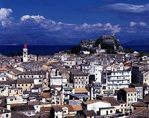 Corfu Town (Kerkira). Corfu. Greece : Stock Photo