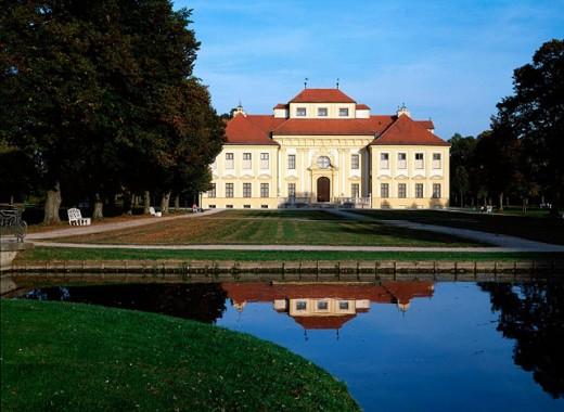 Lustheim Castle (built around 1685). Schleissheim. Bavaria. Germany : Stock Photo