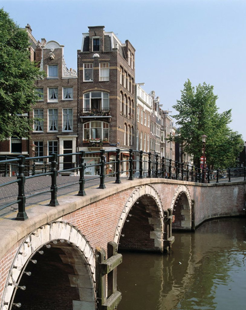 Stock Photo: 1566-070677 Prinsen Canal. Amsterdam. Holland