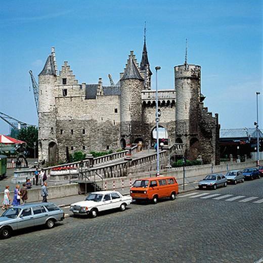 Het Steen Castle. Antwerp. Belgium : Stock Photo