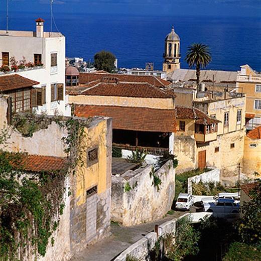 Stock Photo: 1566-071128 Spain, Tenerife, Canary Islands, La Orotava, old city