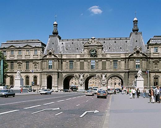 Louvre Museum. Paris. France : Stock Photo