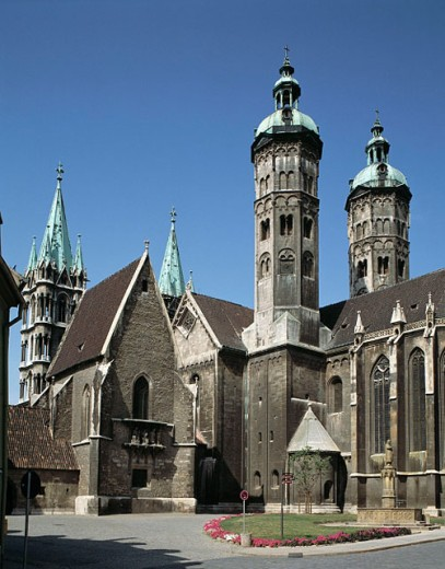Stock Photo: 1566-072644 Dom St. Peter und Paul, Naumburg, Saxony-Anhalt, Germany