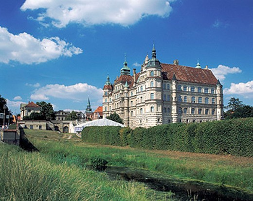 Stock Photo: 1566-073154 Renaissance castle, Guestrow, Mecklenburg-Western Pomerania, Germany