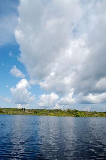Negro River. Manaus, Brazil : Stock Photo
