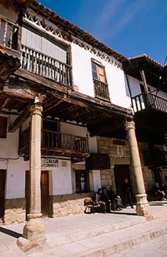 Stock Photo: 1566-075584 Valverde de la Vera. Caceres province. Extremadura. Spain