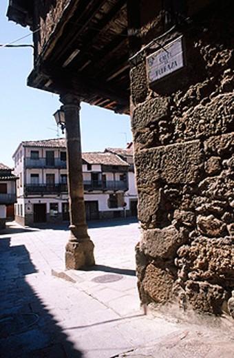 Stock Photo: 1566-075585 Valverde de la Vera. Caceres province. Extremadura. Spain