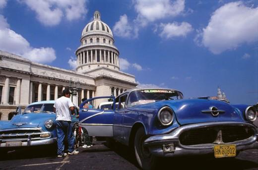 Stock Photo: 1566-076064 Capitol Building. Havana. Cuba