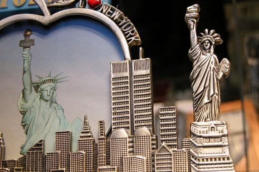 New York City souvenirs : Stock Photo