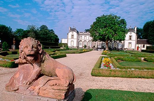 Château de Montmarin. Pleurtuit. Île-et-Vilaine. France : Stock Photo