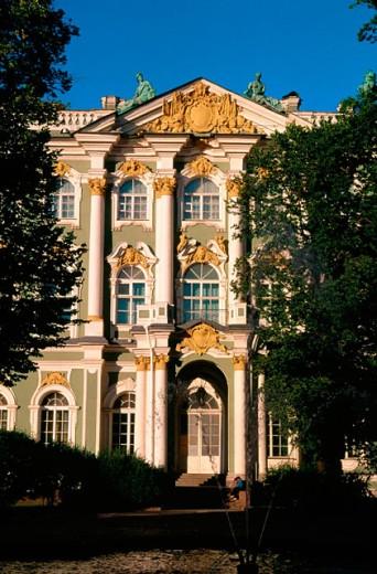 Hermitage Museum. St. Petersburg. Russia : Stock Photo